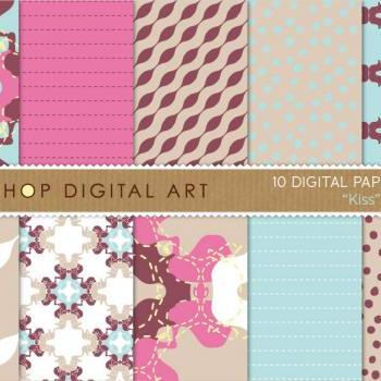Digital Papers - Kiss